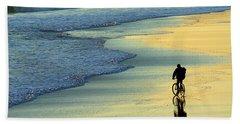 Beach Biker Hand Towel
