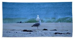 Beach Birds Bath Towel