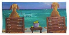 Beach Blondes Hand Towel