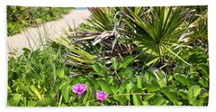 Beach Blooms Hand Towel