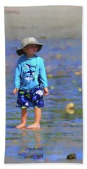 Beach Boy Hand Towel