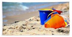 Beach Buckets Bath Towel