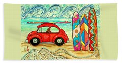 Beach Bug Hand Towel