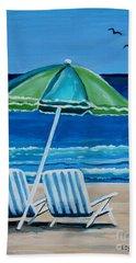 Beach Chair Bliss Hand Towel