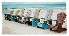 Beach Chairs Bath Towel
