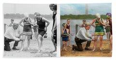 Beach - Cop A Feel 1922 - Side By Side Hand Towel