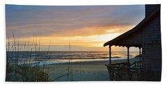Beach Cottage Sunrise  Bath Towel