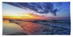 Beach Cove Sunrise Bath Towel