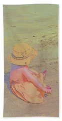Beach Day Bath Towel by Aliceann Carlton