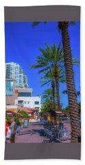 Beach Dr. St. Petersburg Florida Hand Towel