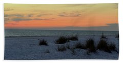 Beach Evening Tones Bath Towel