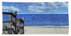 Beach Fence Hand Towel
