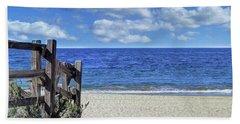 Beach Fence Hand Towel