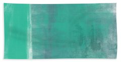 Beach Glass 2 Hand Towel