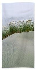 Beach Grass And Dunes Hand Towel