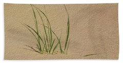 Beach Grass Hand Towel