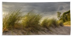 Beach Grasses Bath Towel