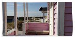 Beach Houses Hand Towel