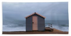 Beach Hut Bath Towel