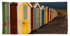 Beach Huts II Hand Towel