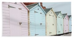 Beach Huts Vi Hand Towel