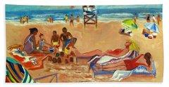 Beach In August Bath Towel