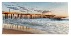Bath Towel featuring the photograph Beach Life by Russell Pugh
