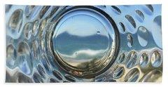 Beach Life Through The Looking Glass Bath Towel