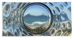 Beach Life Through The Looking Glass Bath Towel