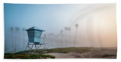 Hand Towel featuring the photograph Beach Office by Sean Foster
