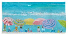 Beach Painting - Color Of Summer Hand Towel