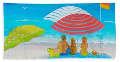 Beach Painting - Endless Summer Days Hand Towel