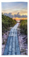 Beach Path II Bath Towel