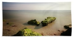 Beach Hand Towel by RC Pics