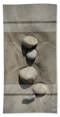 Beach Rocks 1 Hand Towel