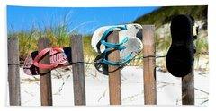 Beach Sandels  Hand Towel