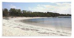 Beach Solomons Island Hand Towel