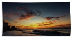 Beach Sunrise Hand Towel