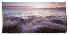 Beach Sunrise Bath Towel