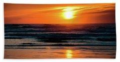 Beach Sunset Hand Towel