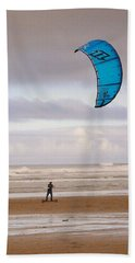 Bath Towel featuring the photograph Beach Surfer by Wendy McKennon
