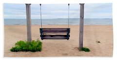 Beach Swing Hand Towel