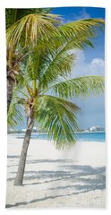 Beach Time In Turks And Caicos Bath Towel by Mike Ste Marie