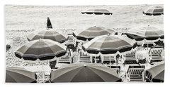 Beach Umbrellas In Nice Hand Towel