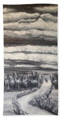 Beach Walk Bath Towel by Diane Pape