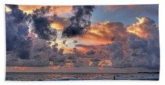 Beach Walk - Florida Seascape Hand Towel