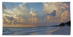 Beach Walk Bath Towel by HH Photography of Florida