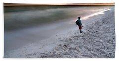 Beach Walk Hand Towel