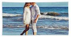 Beach Wedding Hand Towel