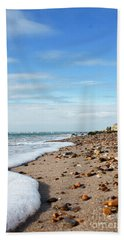 Beachcombing Hand Towel by Terri Waters